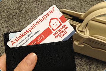 Lompakko - Asiakaspalvelupassi